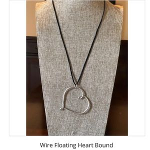 Handcrafted Wire Heart - Bound